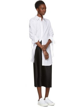 photo White Shirt Dress by T by Alexander Wang - Image 4