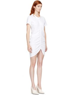 photo White High Twist Dress by T by Alexander Wang - Image 2