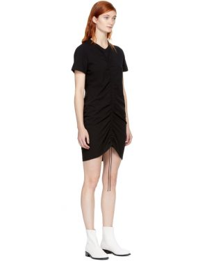 photo Black High Twist Dress by T by Alexander Wang - Image 2