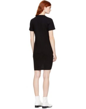 photo Black High Twist Dress by T by Alexander Wang - Image 3