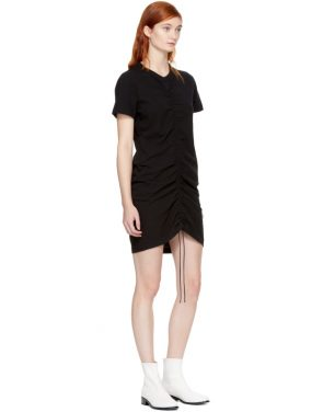 photo Black High Twist Dress by T by Alexander Wang - Image 4