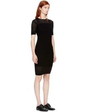 photo Black Float Stitch Dress by T by Alexander Wang - Image 2