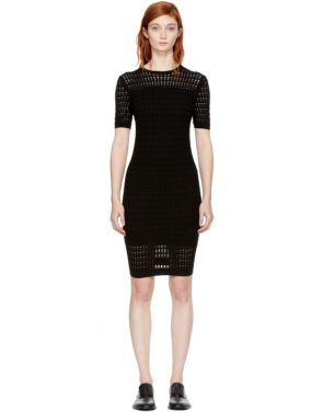 photo Black Float Stitch Dress by T by Alexander Wang - Image 1