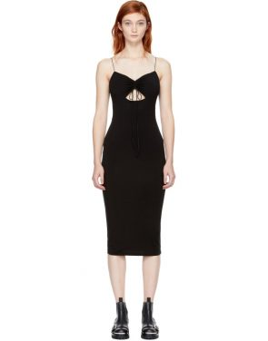 photo Black Cut-Out Dress by T by Alexander Wang - Image 1