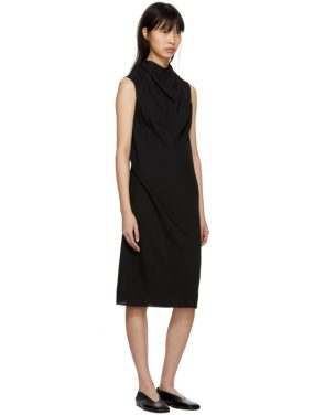 photo Black Bonnie Dress by Rick Owens - Image 5