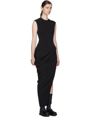 photo Black Walrus Dress by Rick Owens - Image 2