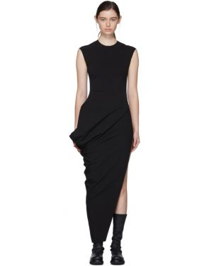 photo Black Walrus Dress by Rick Owens - Image 1