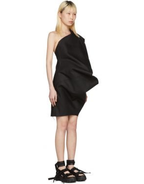 photo Black Bouquet Tunic Dress by Rick Owens - Image 2