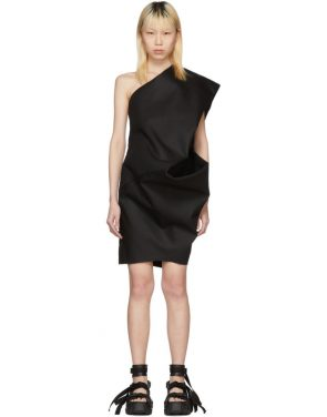 photo Black Bouquet Tunic Dress by Rick Owens - Image 1