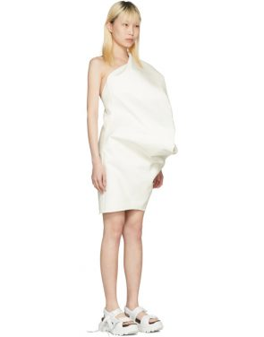 photo White Bouquet Tunic Dress by Rick Owens - Image 2