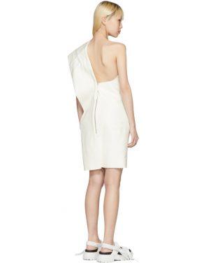 photo White Bouquet Tunic Dress by Rick Owens - Image 3