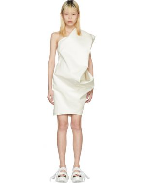 photo White Bouquet Tunic Dress by Rick Owens - Image 1