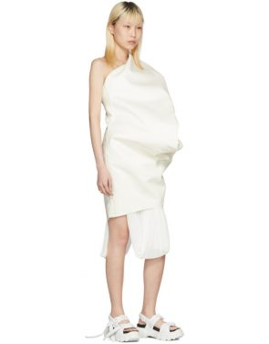 photo White Bouquet Tunic Dress by Rick Owens - Image 5