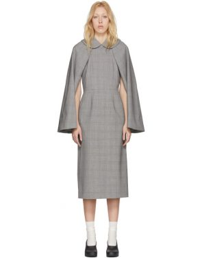 photo Black and White Wool Glen Check Dress by Comme des Garcons - Image 1
