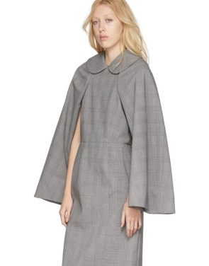 photo Black and White Wool Glen Check Dress by Comme des Garcons - Image 5