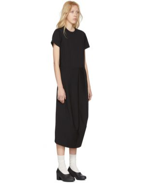 photo Black Box Pleat T-Shirt Dress by Comme des Garcons - Image 2