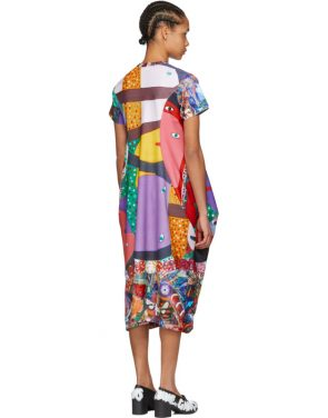 photo Multicolor Potrusions Dress by Comme des Garcons - Image 3