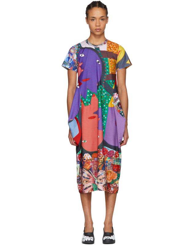 photo Multicolor Potrusions Dress by Comme des Garcons - Image 1