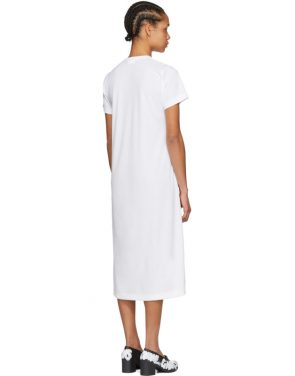 photo White Anime Girl T-Shirt Dress by Comme des Garcons - Image 3