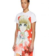 photo White Anime Girl T-Shirt Dress by Comme des Garcons - Image 4