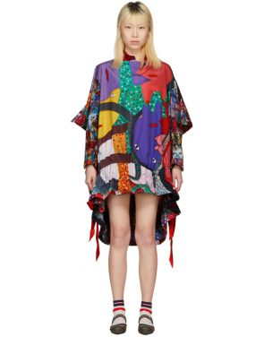 photo Multicolor Mixed Graphic Dress by Comme des Garcons - Image 1