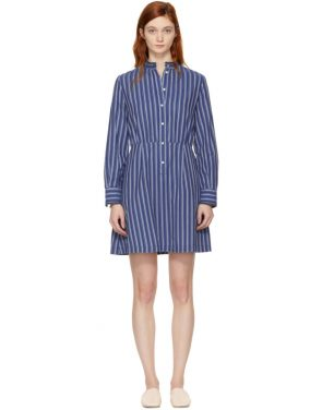 photo Blue Striped Lili Dress by A.P.C. - Image 1