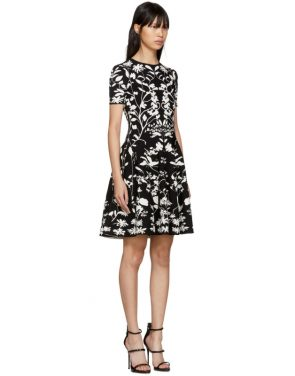 photo Black and White Botanical Spine Dress by Alexander McQueen - Image 2