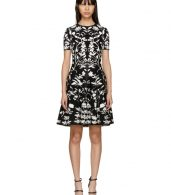 photo Black and White Botanical Spine Dress by Alexander McQueen - Image 1