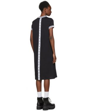 photo Black Logo Banded T-Shirt Dress by Opening Ceremony - Image 3