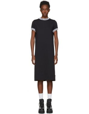 photo Black Logo Banded T-Shirt Dress by Opening Ceremony - Image 1