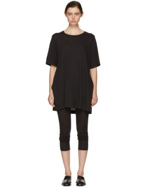 photo Black T-Shirt Dress by Raquel Allegra - Image 1