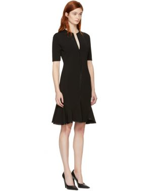 photo Black V-Neck Flare Dress by Givenchy - Image 2