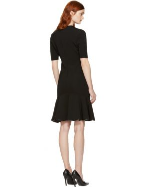 photo Black V-Neck Flare Dress by Givenchy - Image 3