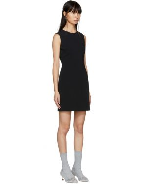 photo Black Round Neck Short Dress by Givenchy - Image 2
