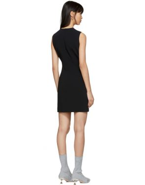 photo Black Round Neck Short Dress by Givenchy - Image 3
