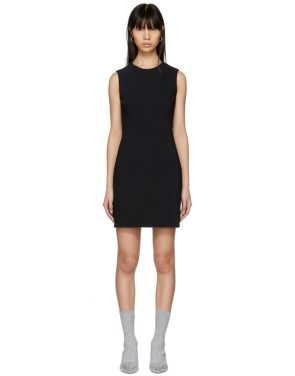 photo Black Round Neck Short Dress by Givenchy - Image 1