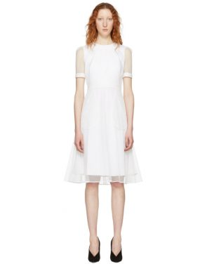 photo White Layered Tulle Dress by Givenchy - Image 1