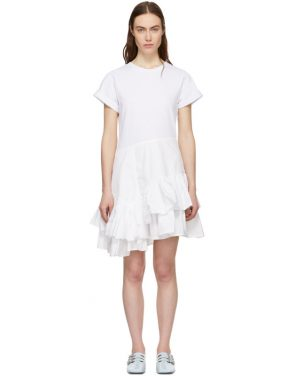 photo White Flamenco T-Shirt Dress by 3.1 Phillip Lim - Image 1