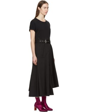 photo Black Jersey T-Shirt Dress by 3.1 Phillip Lim - Image 2