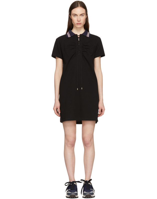 photo Black Polo Dress by Carven - Image 1