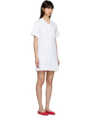 photo White Twist Detail Dress by Carven - Image 2
