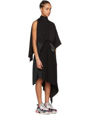photo Black Chaine and Trames Dress by Balenciaga - Image 2
