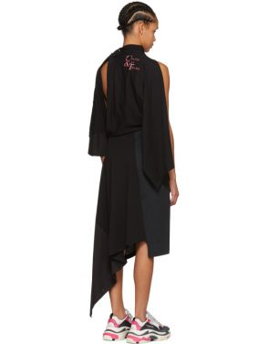 photo Black Chaine and Trames Dress by Balenciaga - Image 3