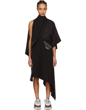 photo Black Chaine and Trames Dress by Balenciaga - Image 1