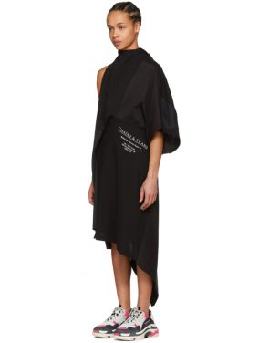 photo Black Chaine and Trames Dress by Balenciaga - Image 4