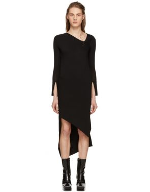 photo Black Spiral Knit Dress by Neil Barrett - Image 1