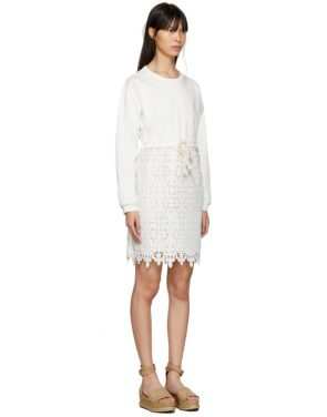 photo Off-White Broderie Anglaise Dress by See by Chloe - Image 2