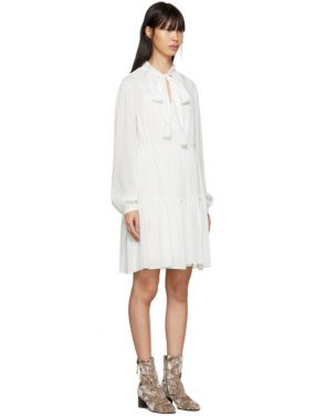 photo White Tassel Bow Dress by See by Chloe - Image 2