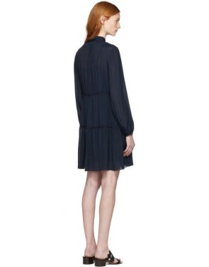photo Navy Tassels Bow Dress by See by Chloe - Image 3