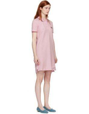 photo Pink Tiger Crest Polo Dress by Kenzo - Image 2